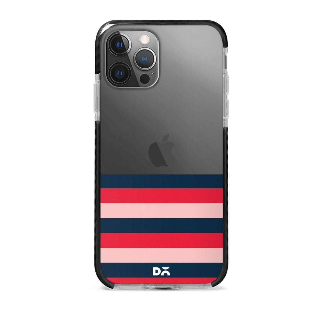 Dark Lines Stride Case Cover for Apple iPhone 12 Pro and Apple iPhone 12 Pro Max with great design and shock proof | Klippik | Online Shopping | Kuwait UAE Saudi