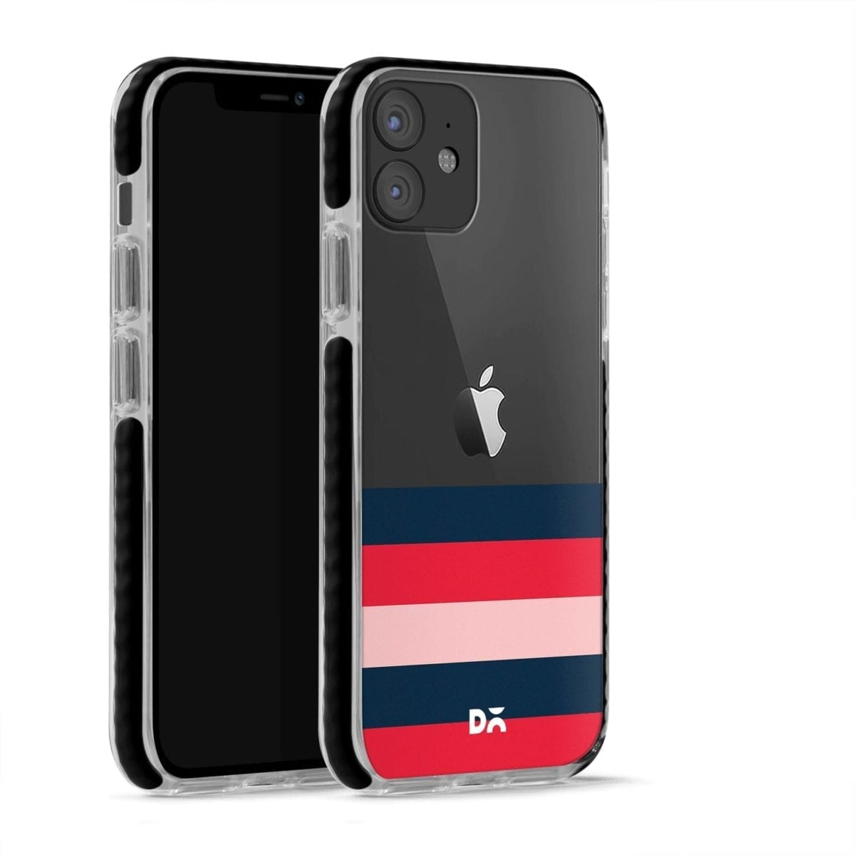 Dark Lines Stride Case Cover for Apple iPhone 12 Mini and Apple iPhone 12 with great design and shock proof | Klippik | Online Shopping | Kuwait UAE Saudi