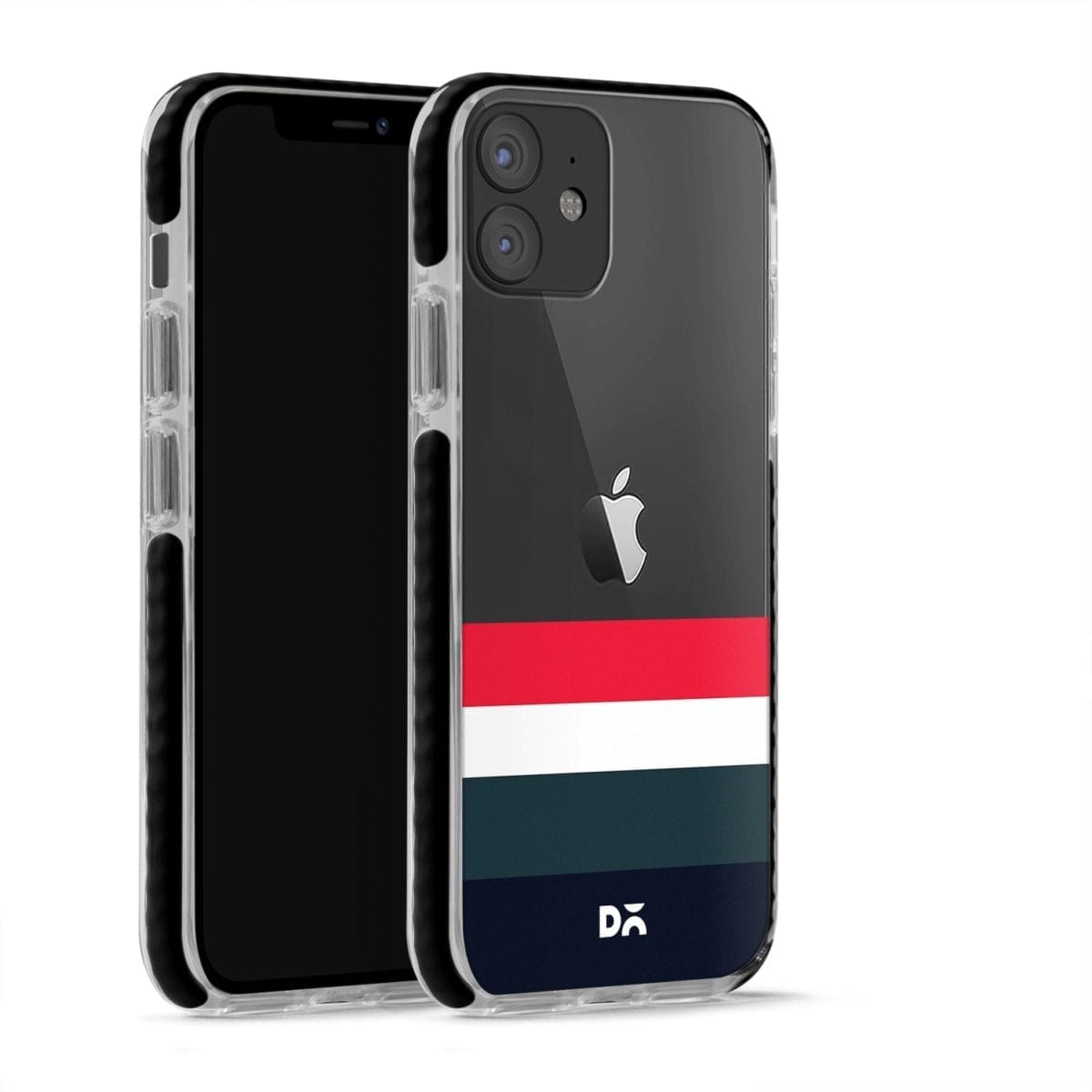 Deep Quad Stride Case Cover for Apple iPhone 12 Mini and Apple iPhone 12 with great design and shock proof | Klippik | Online Shopping | Kuwait UAE Saudi