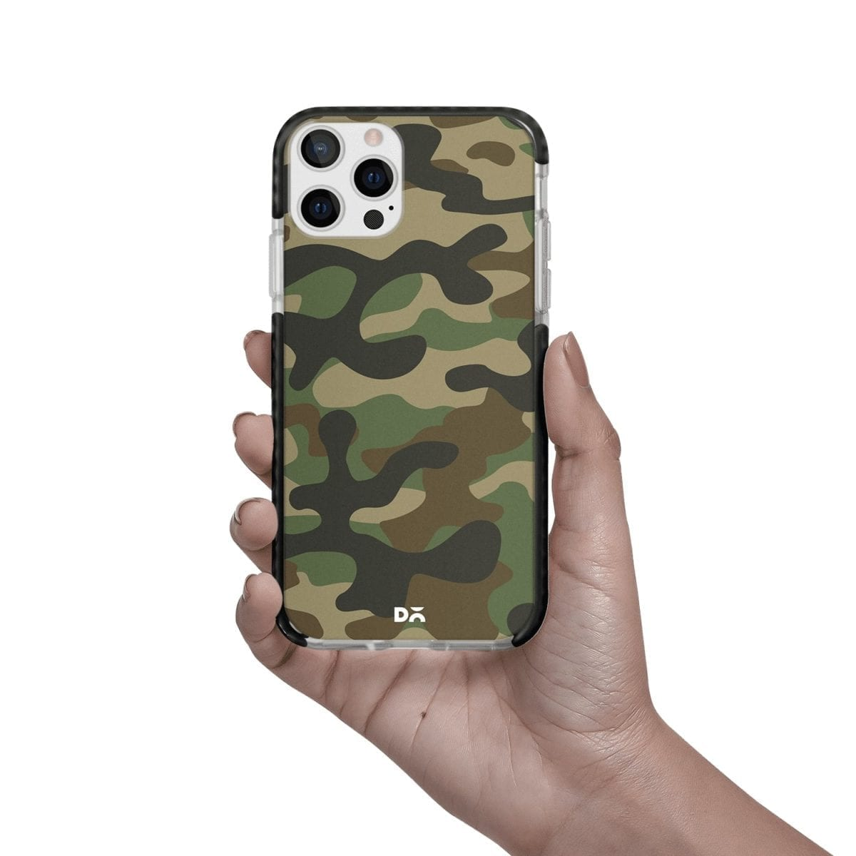 Camouflage Case Cover for Apple iPhone 12 Pro and Apple iPhone 12 Pro Max with great design and shock proof | Klippik | Online Shopping | Kuwait UAE Saudi