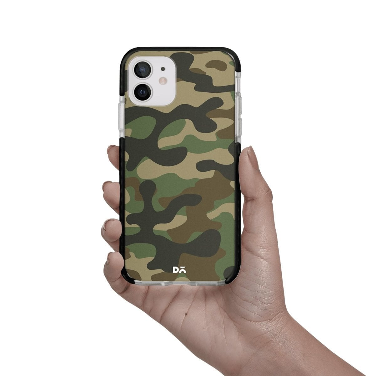 Camouflage Case Cover for Apple iPhone 12 Mini and Apple iPhone 12 with great design and shock proof | Klippik | Online Shopping | Kuwait UAE Saudi