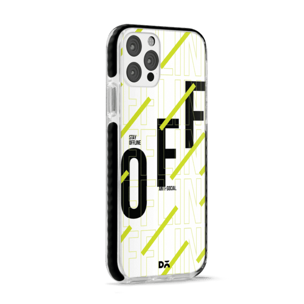 Stay Offline Stride Case Cover for Apple iPhone 12 Pro and Apple iPhone 12 Pro Max with great design and shock proof | Klippik | Online Shopping | Kuwait UAE Saudi