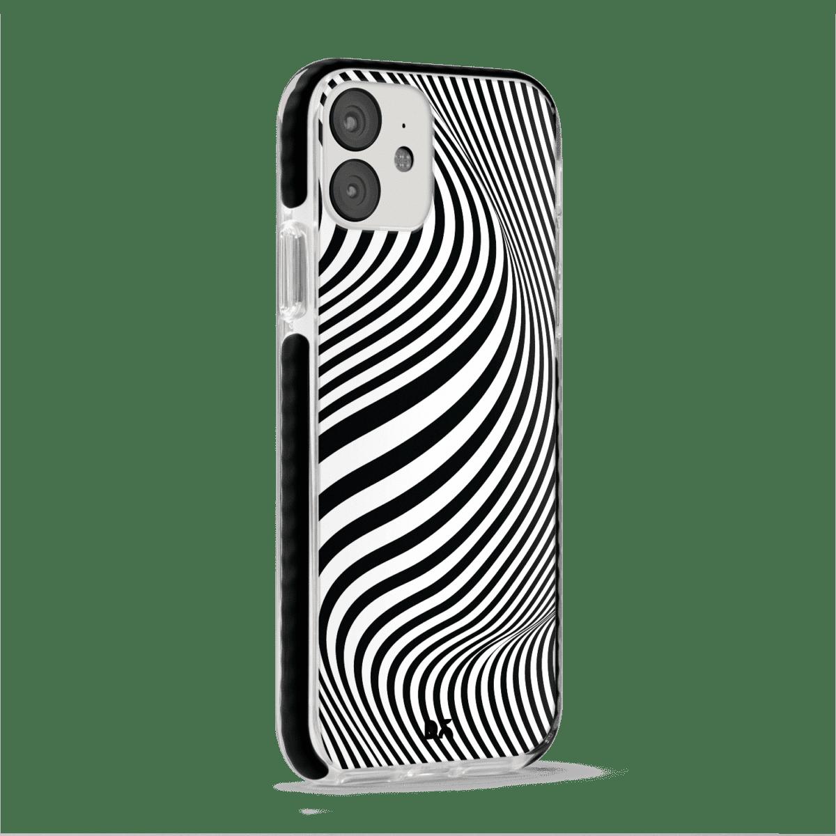 Zebra Stride Case Cover for Apple iPhone 12 Mini with great design and shock proof | Klippik | Online Shopping | Kuwait UAE Saudi