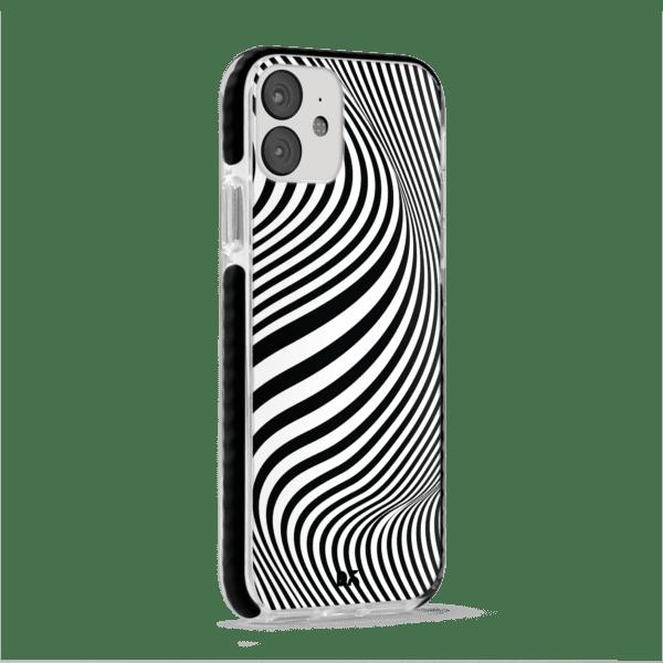 Zebra Stride Case Cover for Apple iPhone 12 Mini with great design and shock proof   Klippik   Online Shopping   Kuwait UAE Saudi