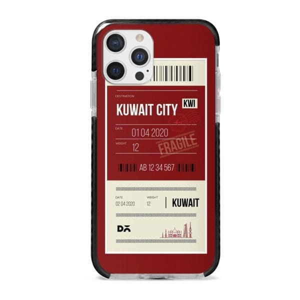 Kuwait City Stride Case Cover for Apple iPhone 12 Pro and Apple iPhone 12 Pro Max with great design and shock proof | Klippik | Online Shopping | Kuwait UAE Saudi