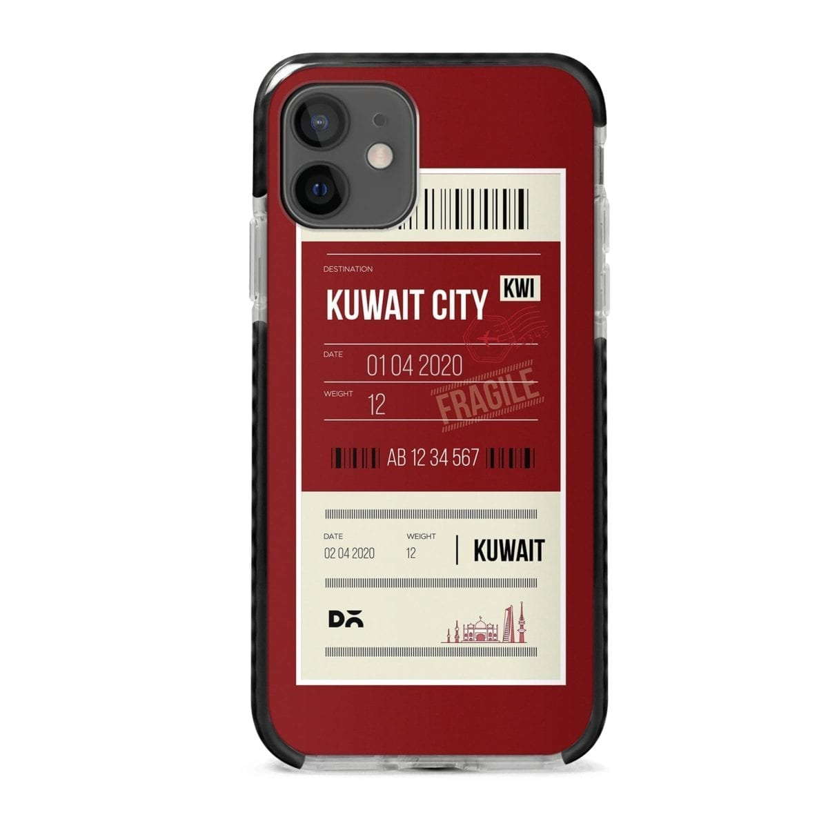 Kuwait City Stride Case Cover for Apple iPhone 12 Mini and Apple iPhone 12 with great design and shock proof | Klippik | Online Shopping | Kuwait UAE Saudi