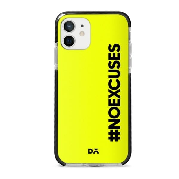 No Excuses Stride Case Cover for Apple iPhone 12 Mini and Apple iPhone 12 with great design and shock proof | Klippik | Online Shopping | Kuwait UAE Saudi