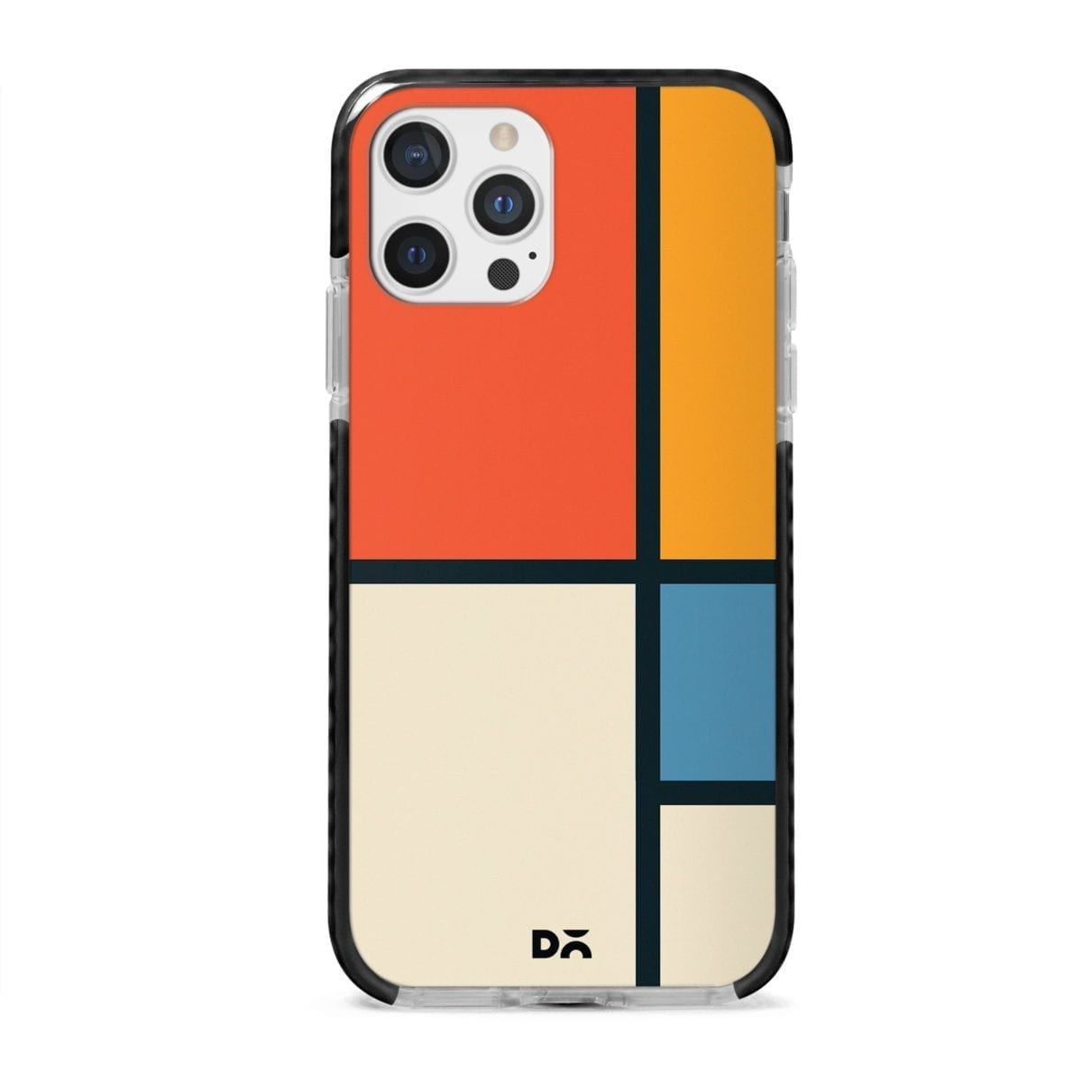 Orange Window Stride Case Cover for Apple iPhone 12 Pro and Apple iPhone 12 Pro Max with great design and shock proof | Klippik | Online Shopping | Kuwait UAE Saudi