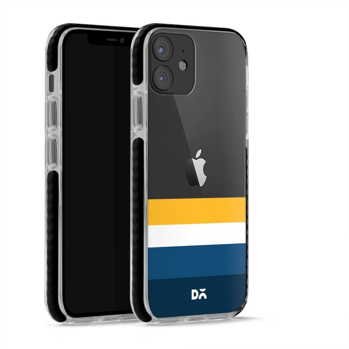 Sunrise Quad Clear Stride Case Cover for Apple iPhone 12 Mini and Apple iPhone 12 with great design and shock proof | Klippik | Online Shopping | Kuwait UAE Saudi