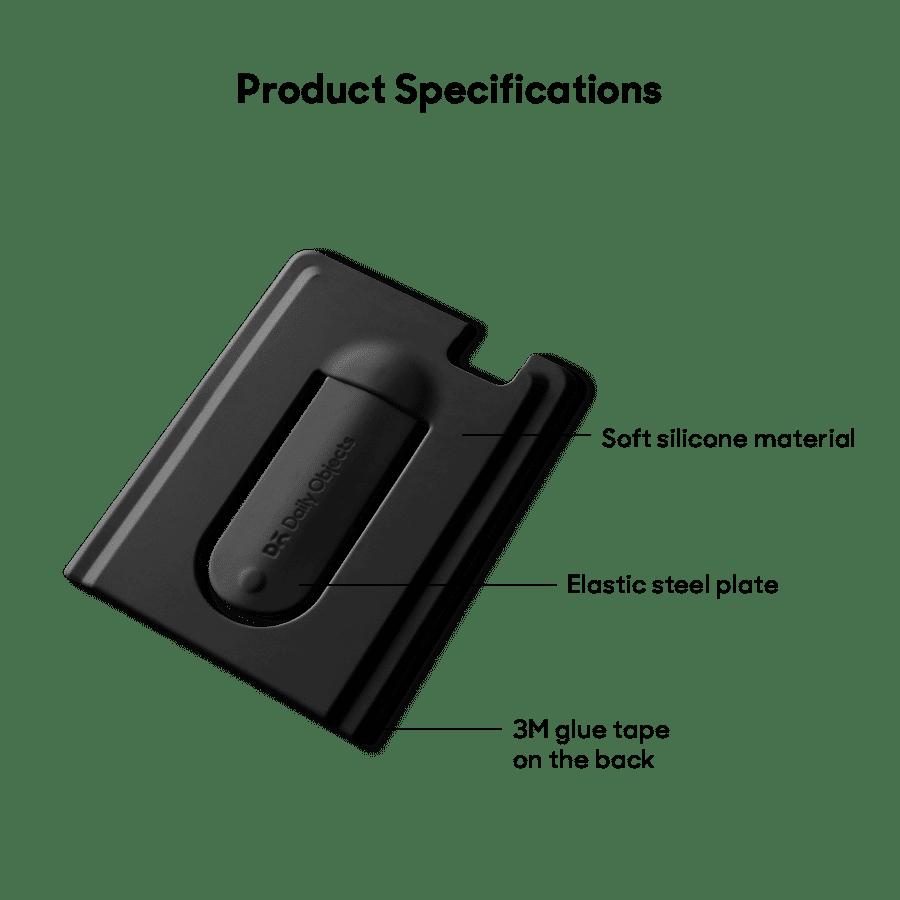 Buy Arch CardSafe Wallet with Phone Stand - Black   Phone Stands   Buy Online Kuwait UAE Saudi   KlippiK.com