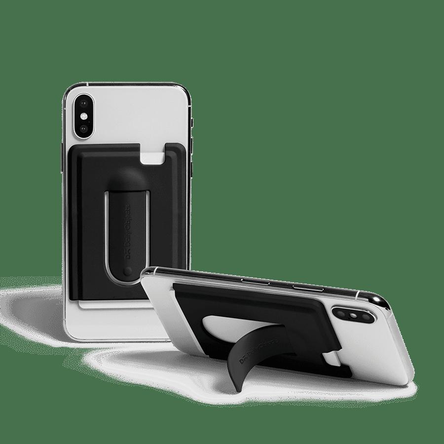 Buy Arch CardSafe Wallet with Phone Stand - Black | Phone Stands | Buy Online Kuwait UAE Saudi | KlippiK.com