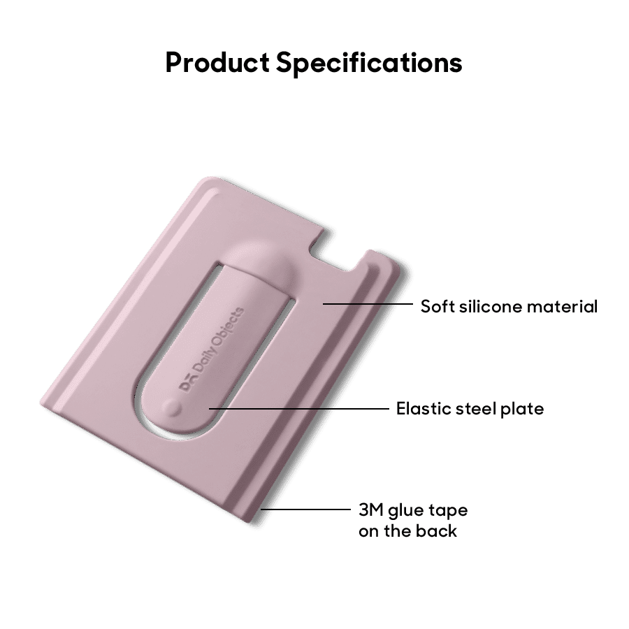 Buy Arch CardSafe Wallet with Phone Stand - Pink | Phone Stands | Buy Online Kuwait UAE Saudi | KlippiK.com