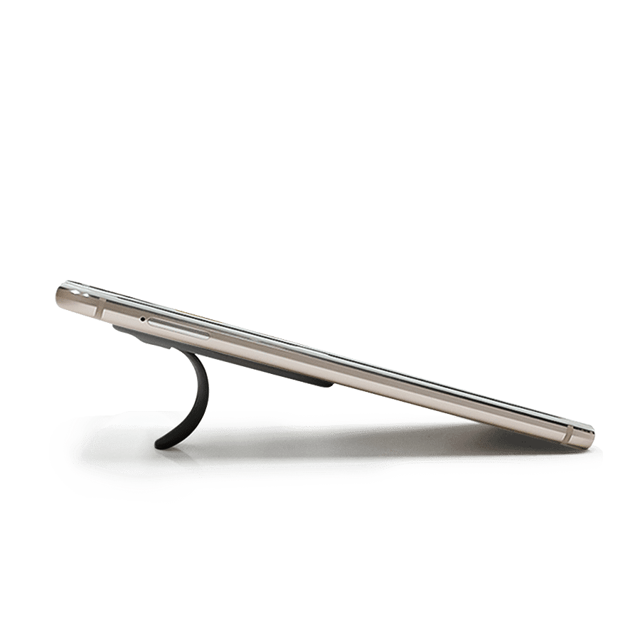Buy Fluid Arch Phone Stand - Black | Phone Stands | Buy Online Kuwait UAE Saudi | KlippiK.com