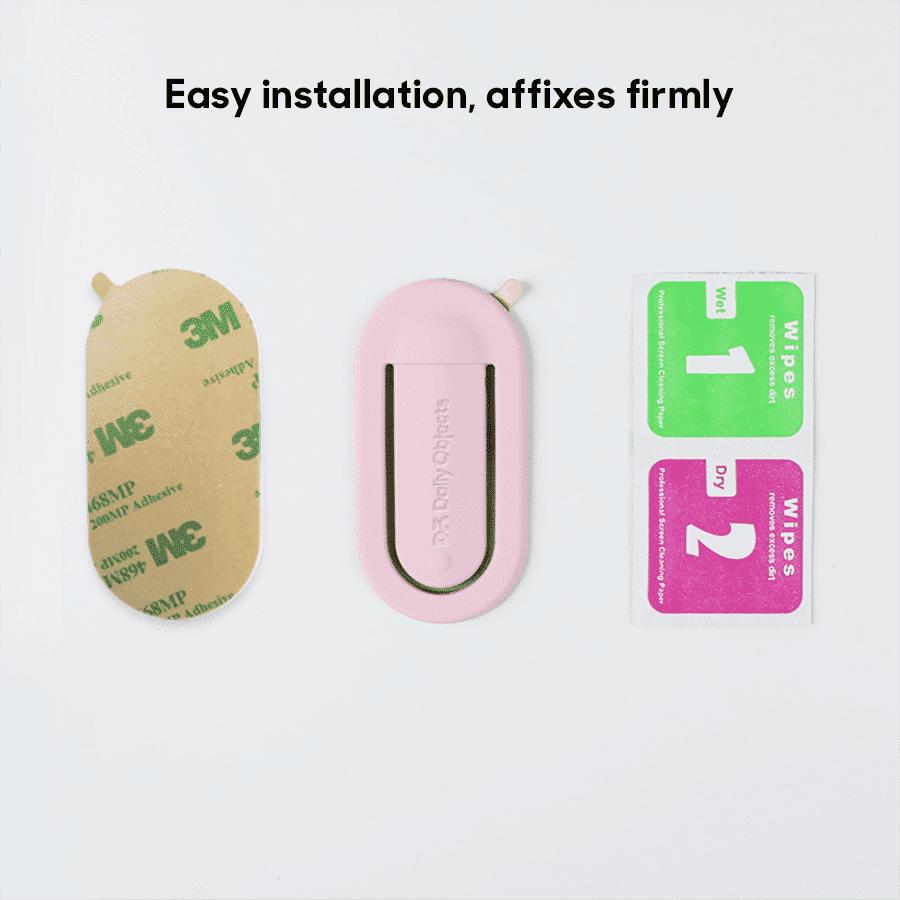 Buy Fluid Arch Phone Stand - Pink | Phone Stands | Buy Online Kuwait UAE Saudi | KlippiK.com