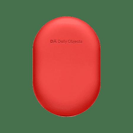Buy Oblong Earphones & Cable Pouch - (Red) | Organizers | Buy Online Kuwait UAE Saudi | KlippiK.com