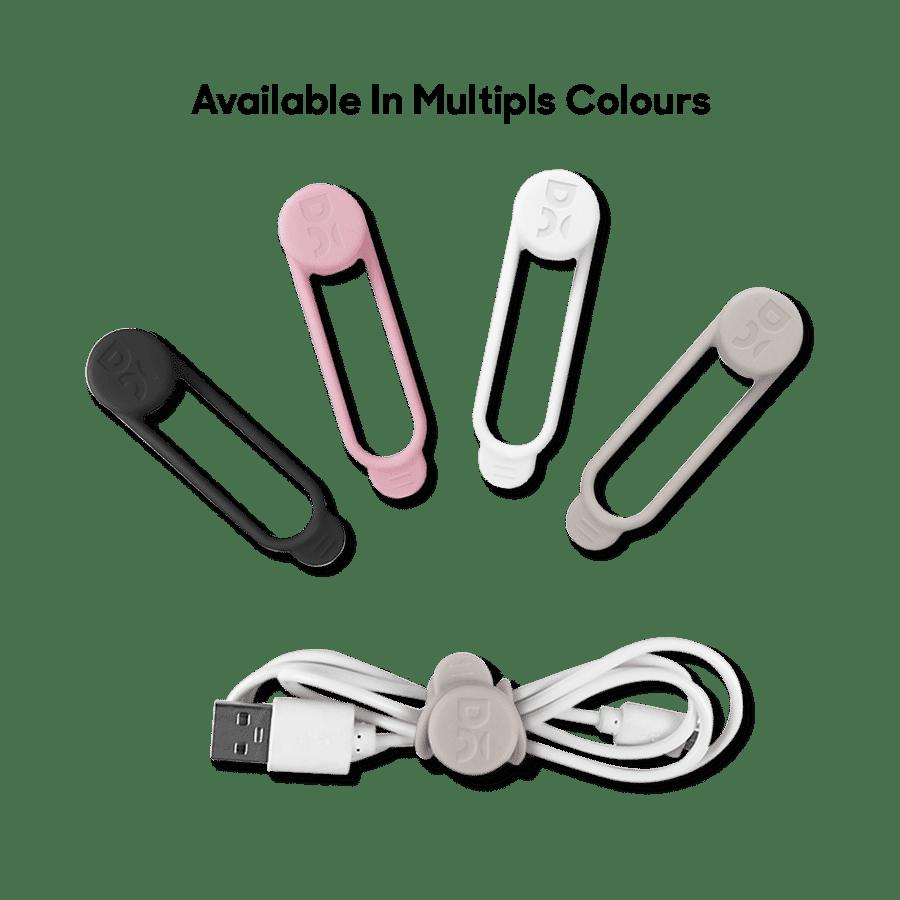 Buy Wrap-Lock Cable Bind - Set of 4 | Organizers | Buy Online Kuwait UAE Saudi | KlippiK.com