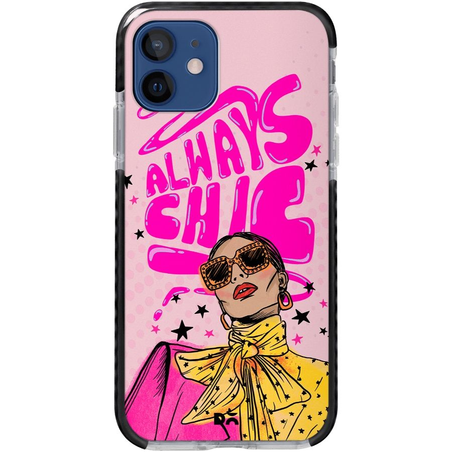 Always Chic Queen Stride Case Cover for Apple iPhone 12 mini and Apple iPhone 12 with great design and shock proof | Klippik | Online Shopping | Kuwait UAE Saudi