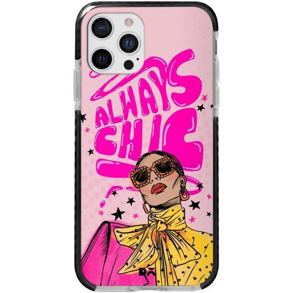 Always Chic Queen Stride Case Cover for Apple iPhone 12 Pro and Apple iPhone 12 Pro Max with great design and shock proof | Klippik | Online Shopping | Kuwait UAE Saudi