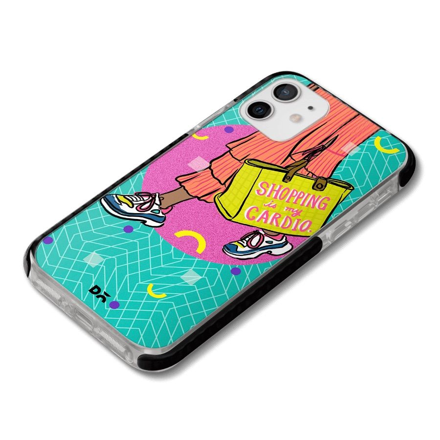 Shopping is Cardio Queen Stride Case Cover for Apple iPhone 12 mini and Apple iPhone 12 with great design and shock proof | Klippik | Online Shopping | Kuwait UAE Saudi