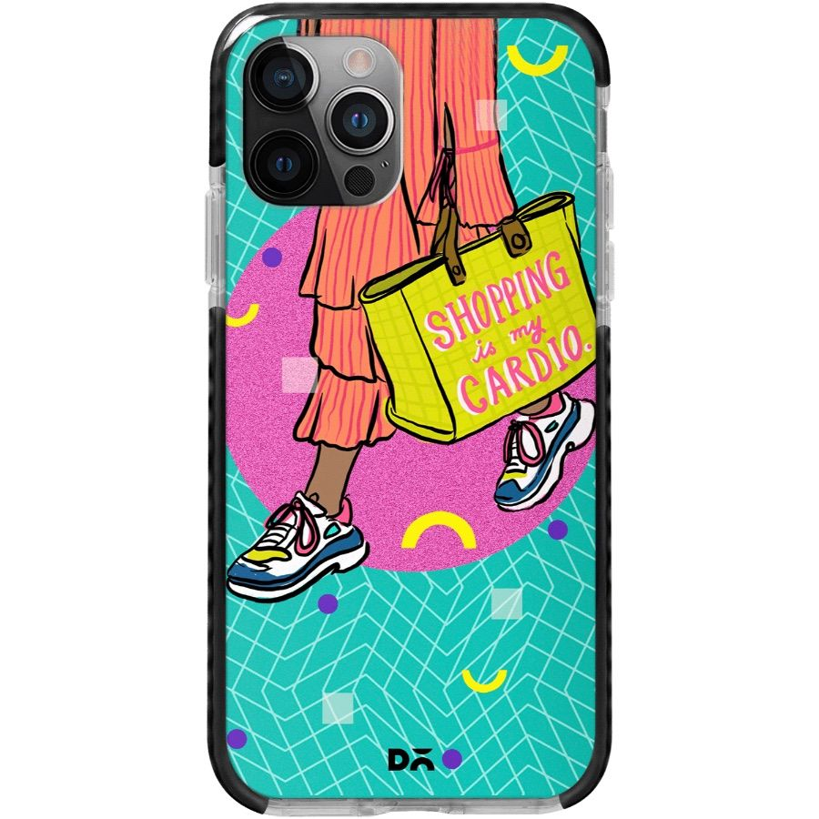 Shopping is Cardio Queen Stride Case Cover for Apple iPhone 12 Pro and Apple iPhone 12 Pro Max with great design and shock proof | Klippik | Online Shopping | Kuwait UAE Saudi