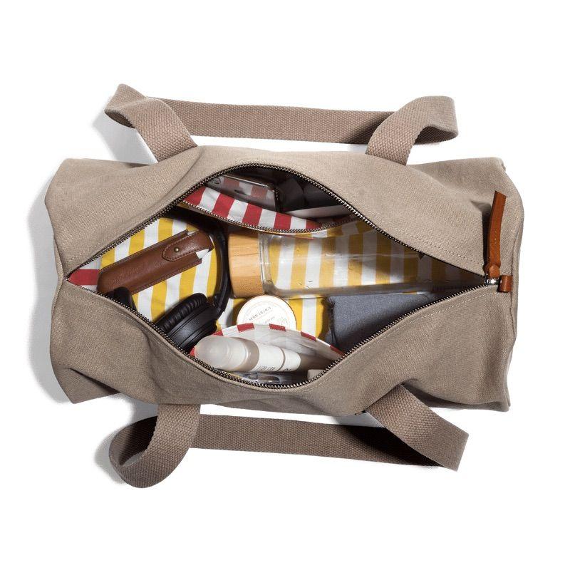 Khaki Beige Swing Duffle Bag | Klippik | Best Duffle Bags | Online Shopping | Kuwait UAE Saudi
