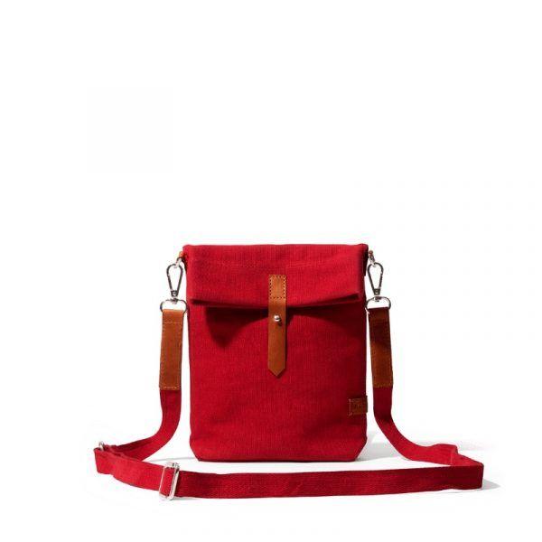 Crimson Red Scout Crossbody Bag | Klippik | Best Scout Crossbody Bags | Online Shopping | Kuwait UAE Saudi