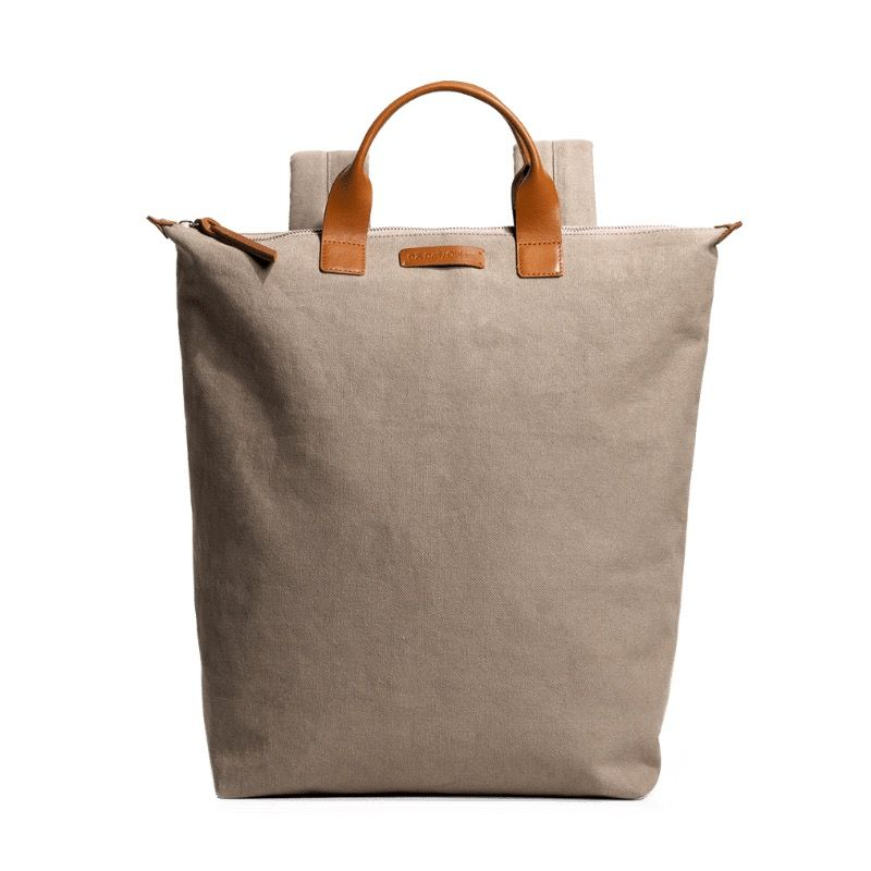Khaki Beige Pilot Backpack | Klippik | Best Backpacks | Online Shopping | Kuwait UAE Saudi