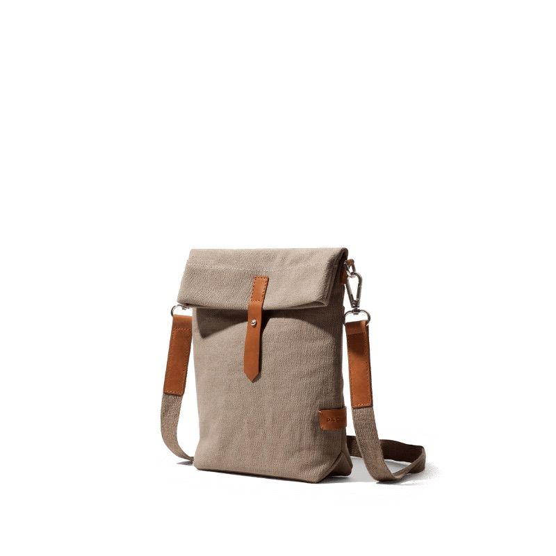 Khaki Beige Scout Crossbody Bag   Klippik   Best Scout Crossbody Bags   Online Shopping   Kuwait UAE Saudi