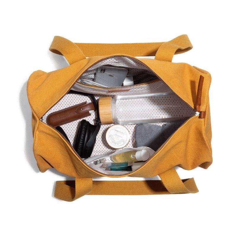 Mustard Yellow Swing Duffle Bag   Klippik   Best Duffle Bags   Online Shopping   Kuwait UAE Saudi