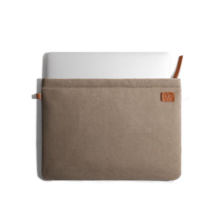 Amazing Beige Khakhi Canvas sleeves for your laptop, iPads, MacBooks, Tablets   Buy Online  KlippiK Kuwait UAE Saudi