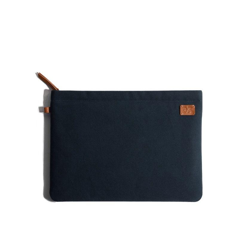 Amazing Blue Canvas sleeves for your laptop, iPads, MacBooks, Tablets | Buy Online |KlippiK Kuwait UAE Saudi