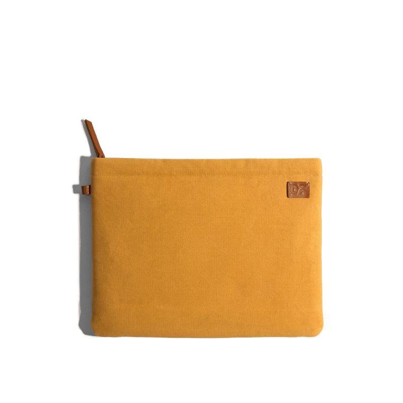 Amazing yellow Canvas sleeves for your laptop, iPads, MacBooks, Tablets | Buy Online |KlippiK Kuwait UAE Saudi