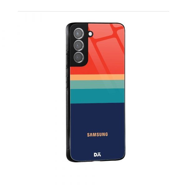 Blue and Red case cover for Samsung Galaxy S21 | S21 Plus . Best cases at KlippiK Online Shopping Kuwait UAE Saudi