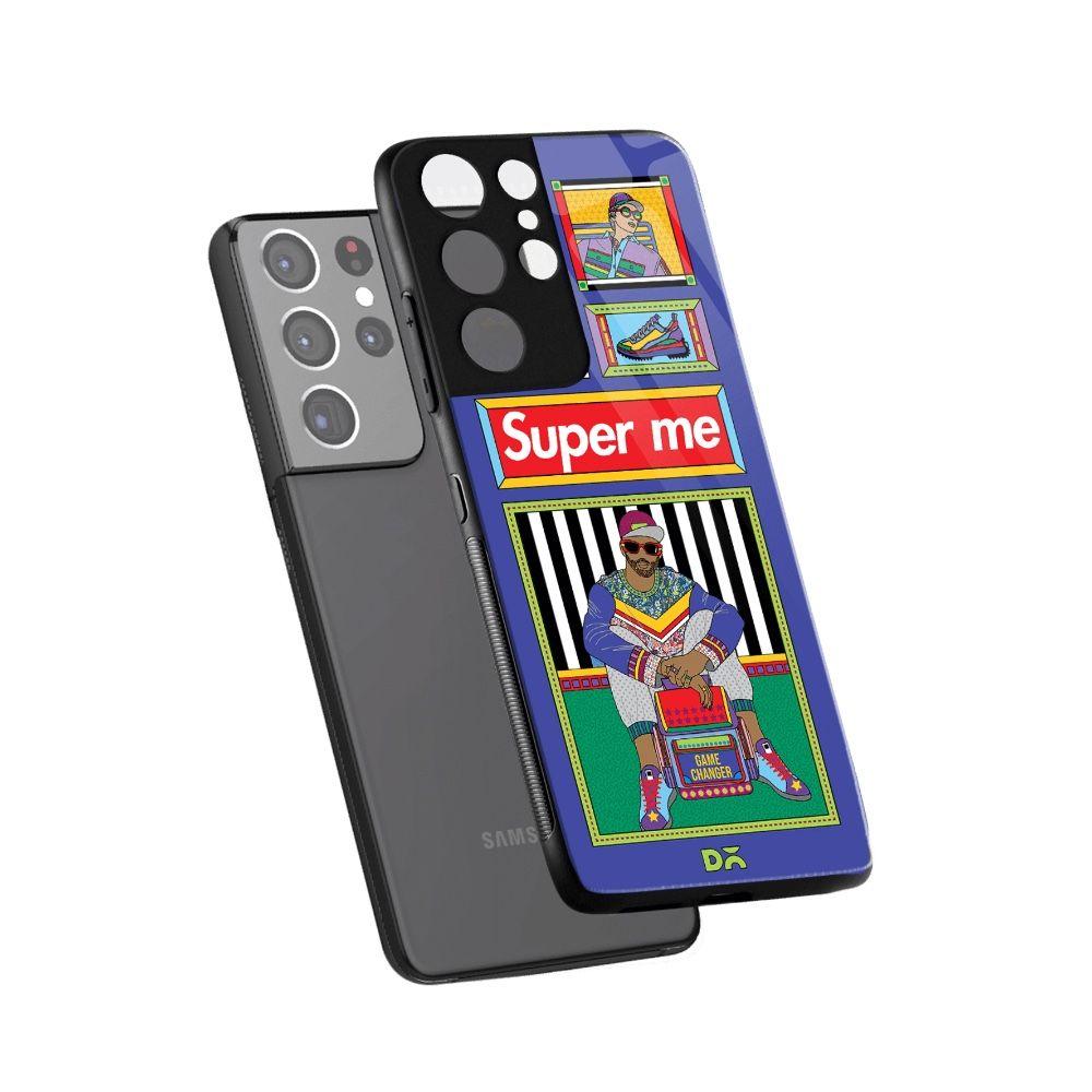 Super Gamechanger case cover for Samsung Galaxy S21 Ultra . Best cases at KlippiK Online Shopping Kuwait UAE Saudi