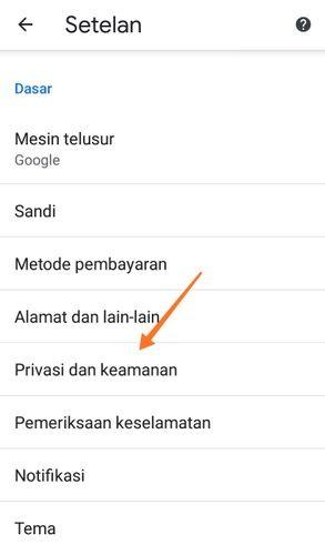 Privasi Dan Keamanan