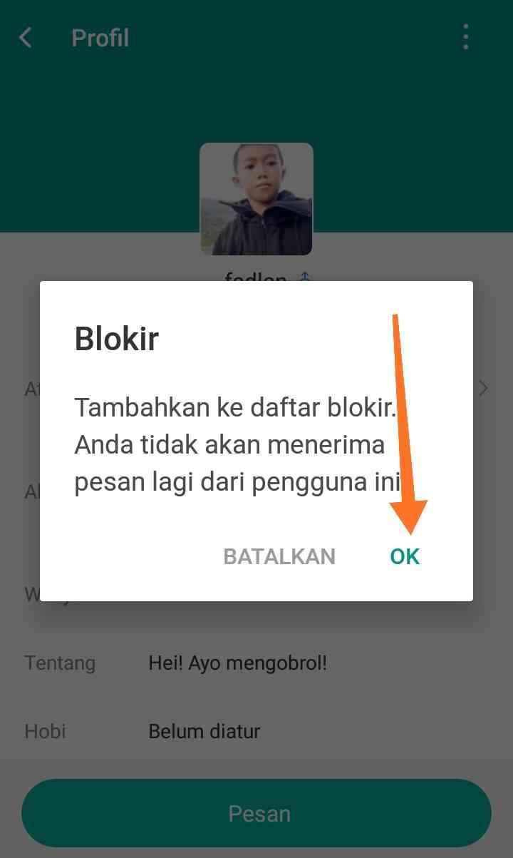 blokir teman michat – Kompirasi.com