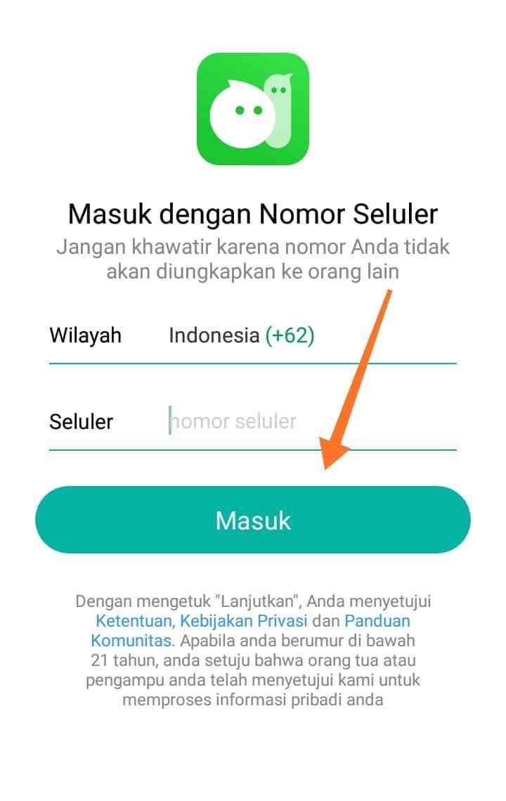 Nomor MiChat