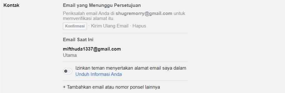 Konfirmasi Email Melalui Gmail