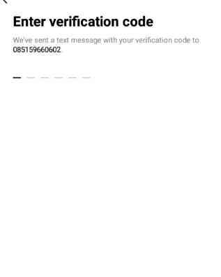 Masukan Kode Verifikasi Akun Line