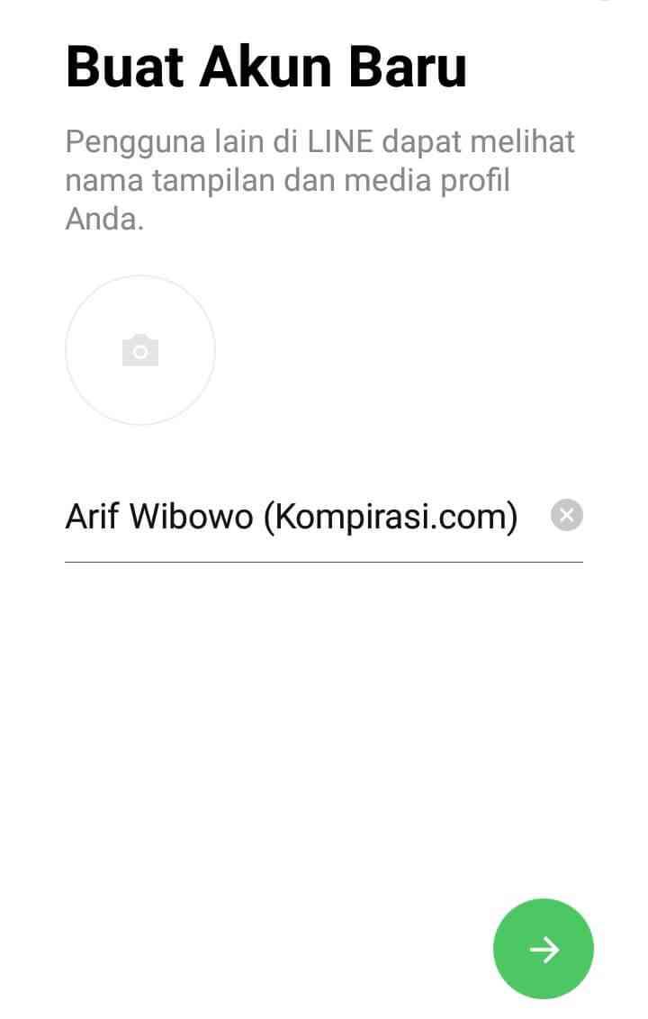 nama line – Kompirasi.com