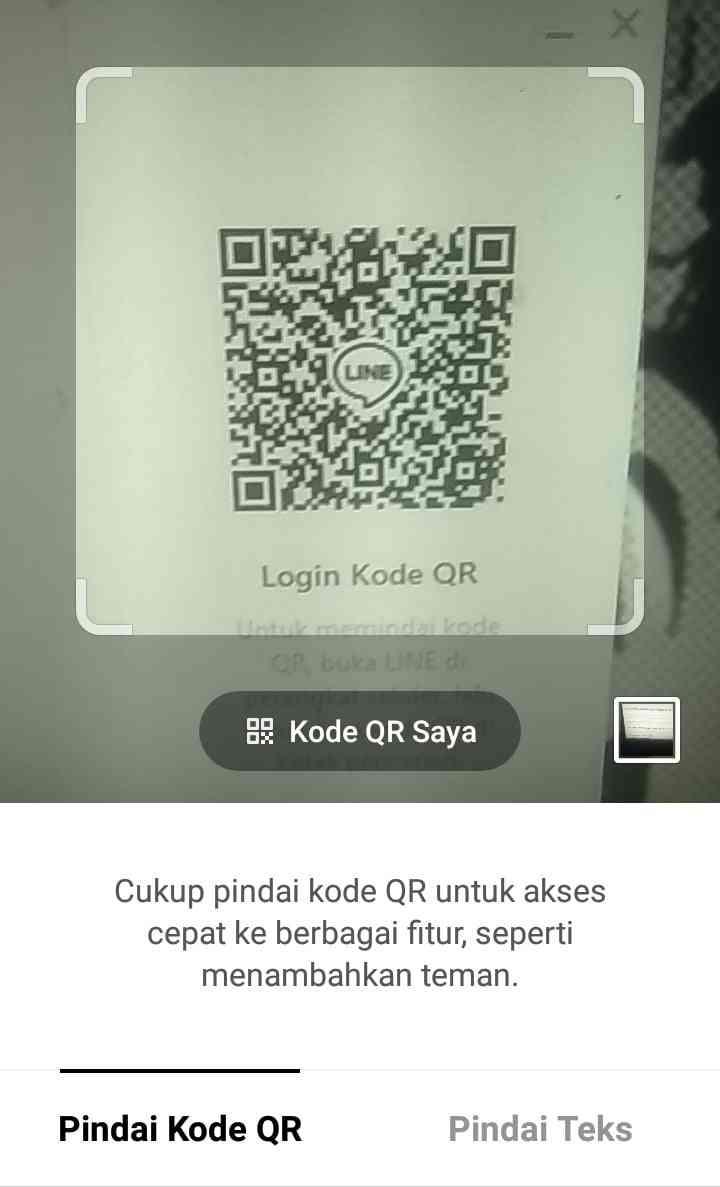 Scan Kode QR