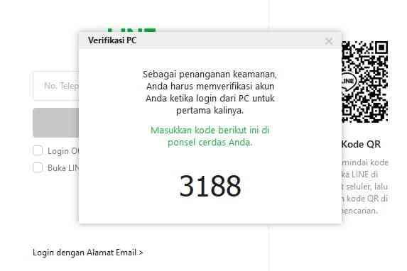 Verifikasi PC