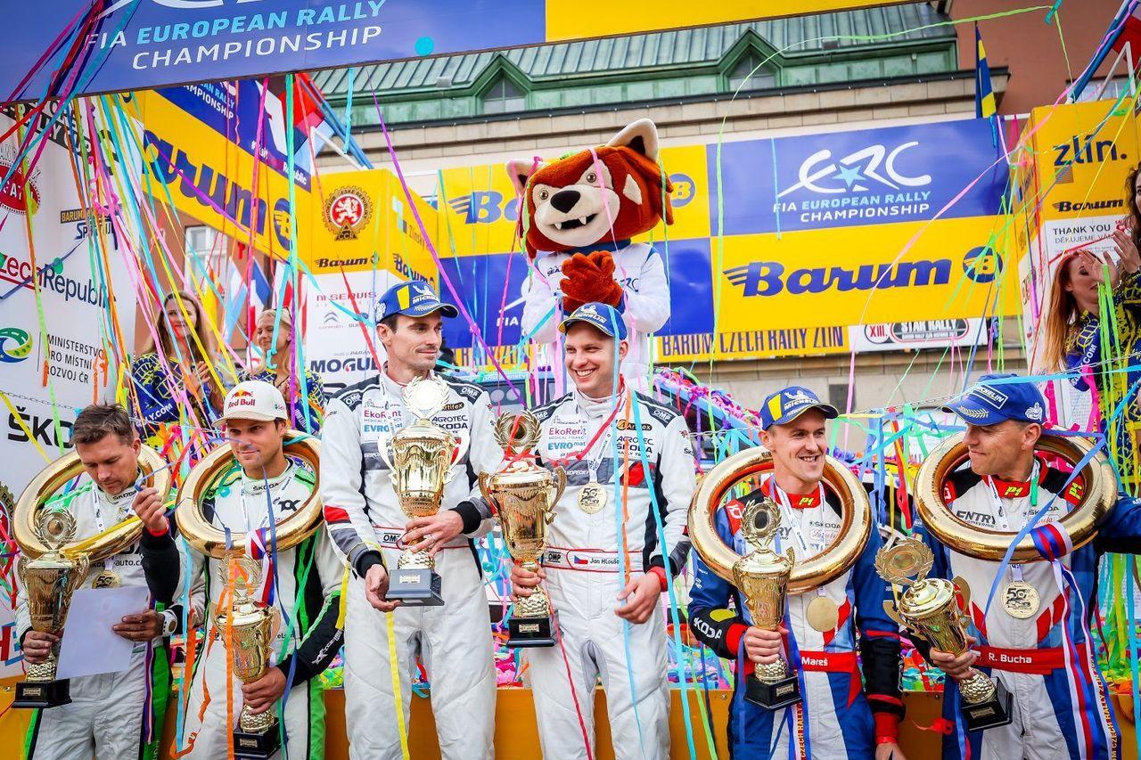 Jan Kopecký prodloužil na Barumce vítěznou sérii a získal domácí titul