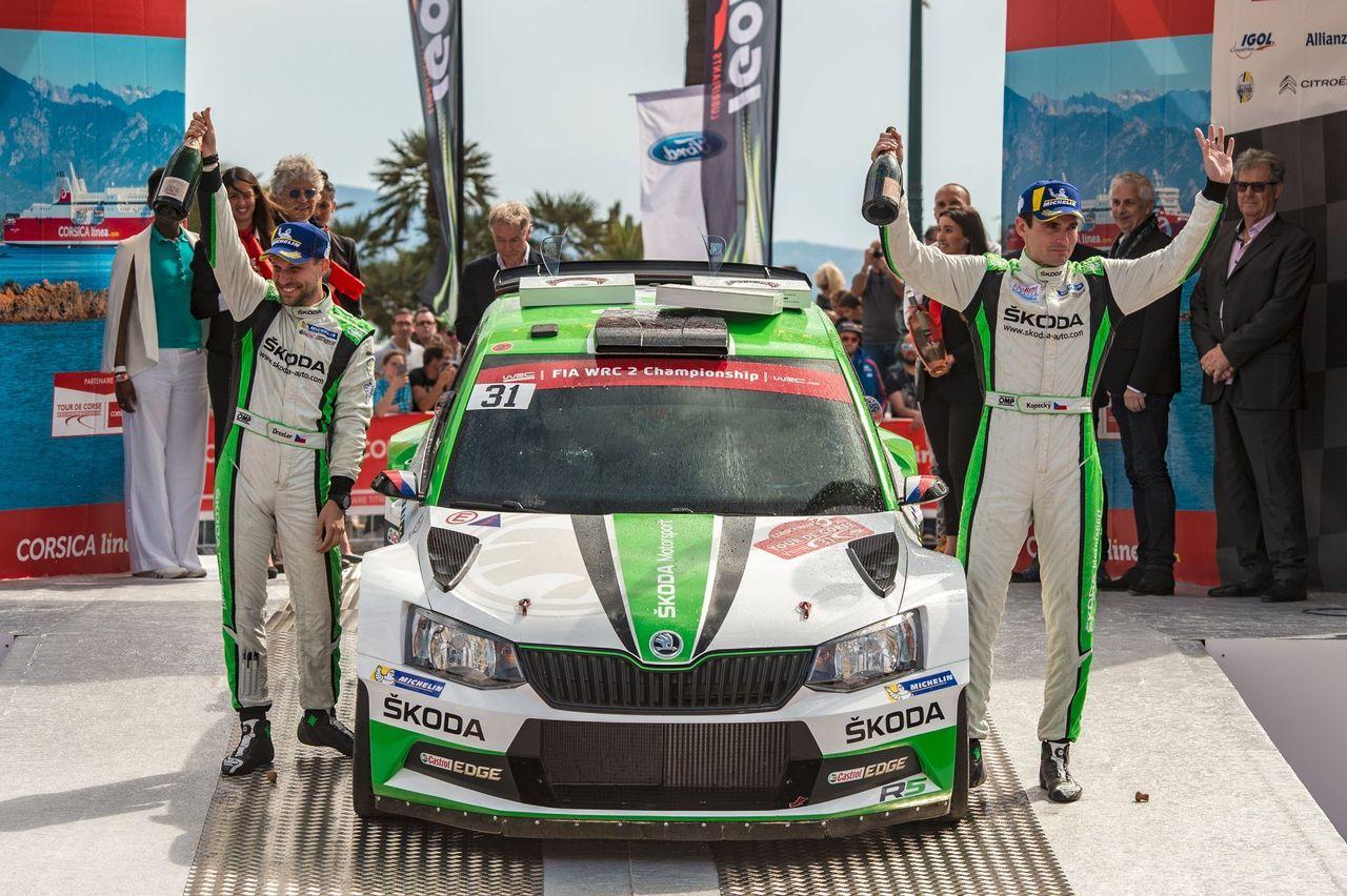 WRC 2 Francouzské rally na Korsice