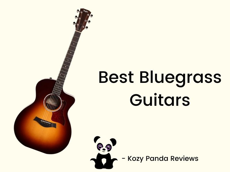 top 3 best bluegrass guitar