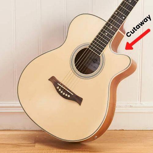 Best cutaway acoustic guitar for 2020 - Cutaway in a guitar
