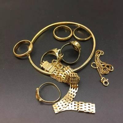 billede af Smykker af gammelt guld