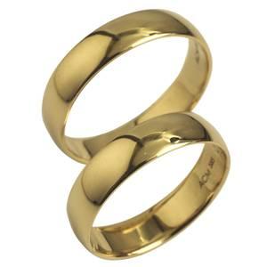 tynde og glatte ringe