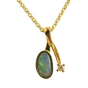 Opal og brillant