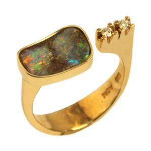 Opal med mange farver
